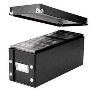 Ideastream Products Snap-N-Store CD Storage Box- 30 CD Cap-