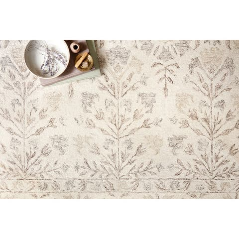 Alexander Home Annabelle Farmhouse Hand-hooked Wool Rug
