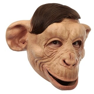 Adult Customizable Hairstyle Chimp Mask