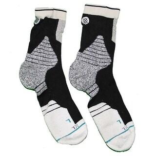 Donald Sloan Brooklyn Nets 201516 Game Used 15 Black and Grey Socks