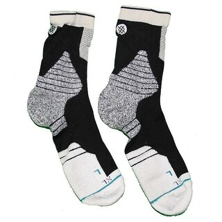 Thaddeus Young Brooklyn Nets 201516 Game Used 30 Black and Grey Socks
