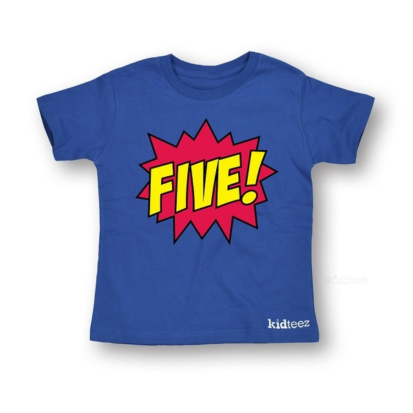 Flamingo 5th Birthday Gift for Five Year Old Toddler//Kids Long Sleeve T-Shirt