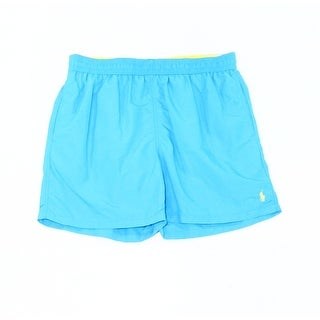 Polo Ralph Lauren NEW Blue Mens Size XL Drawstring 3-Pocket Trunks