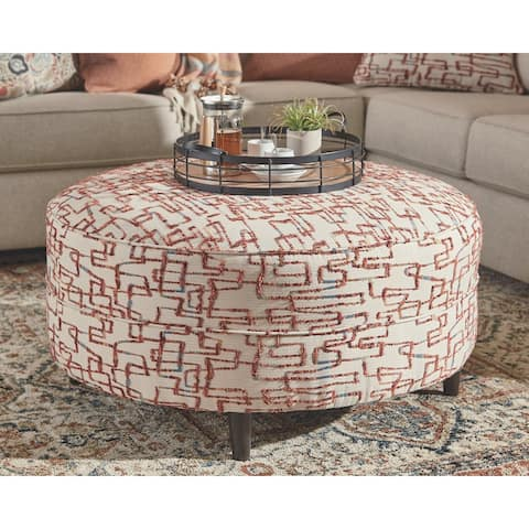 Carson Carrington Umea Oversized Accent Ottoman