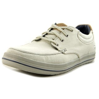 Skechers Soden Round Toe Canvas Sneakers