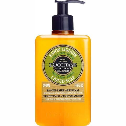 L'Occitane Verbena Hands & Body Liquid 16.9-ounce Soap