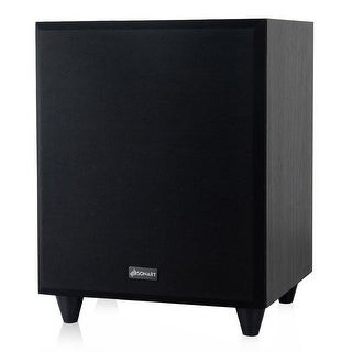 Sonart 8'' 300W Powered Active Subwoofer Front-Firing Woofer Surround Sound Home Theater - black