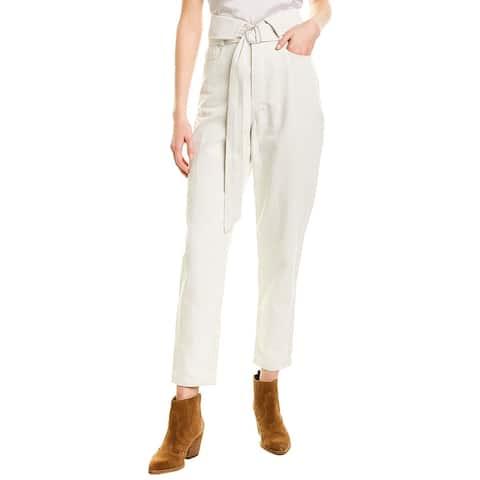 Iro Puzzled Linen-Blend Crop Pant