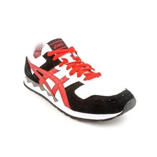 Asics Gel-Holland Men  Round Toe Suede White Running Shoe