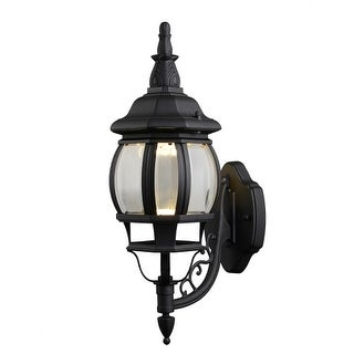"Design House 578666 Canterbury 19"" Tall Integrated LED Outdoor Wall Sconce with"