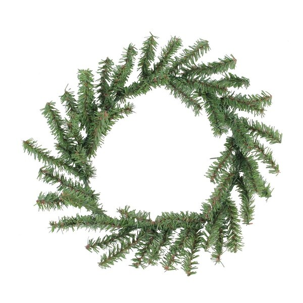 "10"" Mini Pine Artificial Christmas Wreath - Unlit - green"