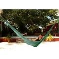 Sunnydaze Green Portable Hand-Woven 2-Person Mayan Hammock - Thumbnail 4