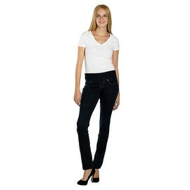 Lola Pull On Straight Jeans, Catherine-RB