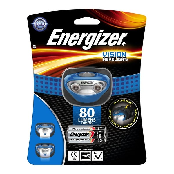 Energizer HDA32E Vision LED Headlight, 80 Lumens