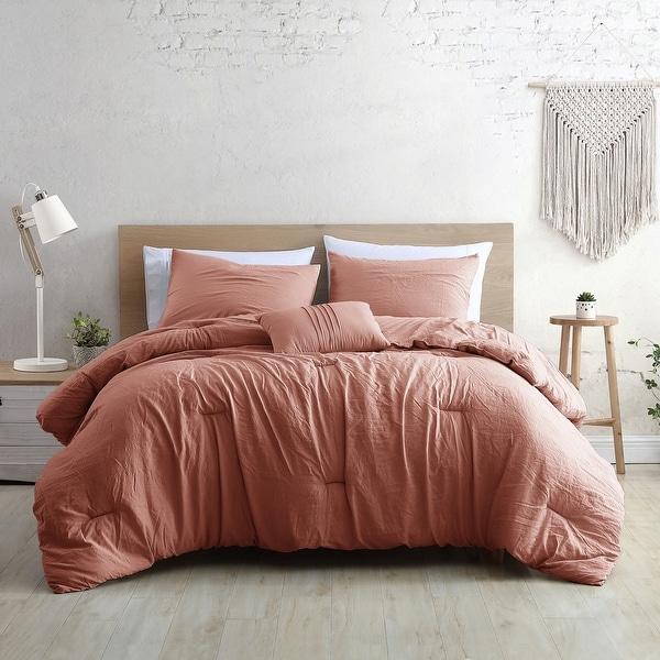 Modern Threads Braelyn 4-Piece Garment-Washed Comforter Set. Opens flyout.