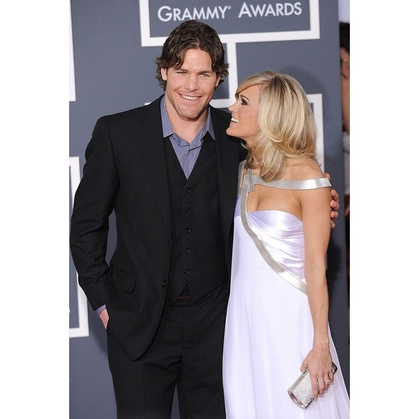 Shop Mike Fisher Carrie Underwood At Arrivals For 52nd