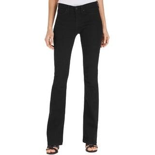 Calvin Klein Jeans Womens Bootcut Jeans Denim Modern Fit