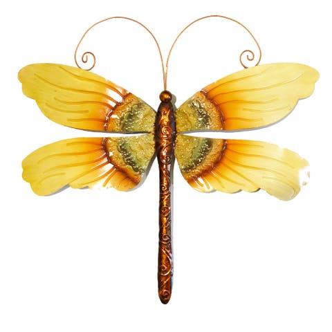 Handmade Dragonfly Sunflower