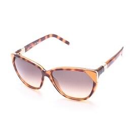 Chloe Women's Cat Eye Sunglasses Tortoise/Orange - Small