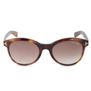Link to Tom Ford Riley FT0298 52F51 Oval Sunglasses - 51mm x 19mm x 140mm Similar Items in Women's Sunglasses