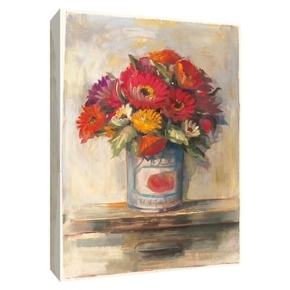 "PTM Images 9-154242  PTM Canvas Collection 10"" x 8"" - ""Farmstand Bouquet II"" Giclee Flowers Art Print on Canvas"