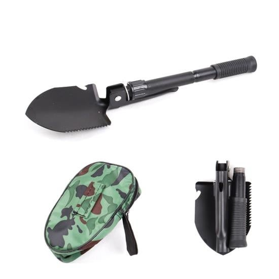 Compact Folding Tactical Utility Shovel