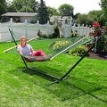 Sunnydaze Caribbean XL Rope Hammock with Spreader Bars - Multiple Colors Availab - Thumbnail 25
