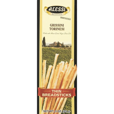 Alessi Breadsticks - Thin - Case of 12 - 3 oz.