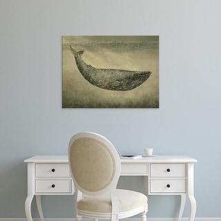 Easy Art Prints Terry Fan's 'Wallpaper Whale' Premium Canvas Art