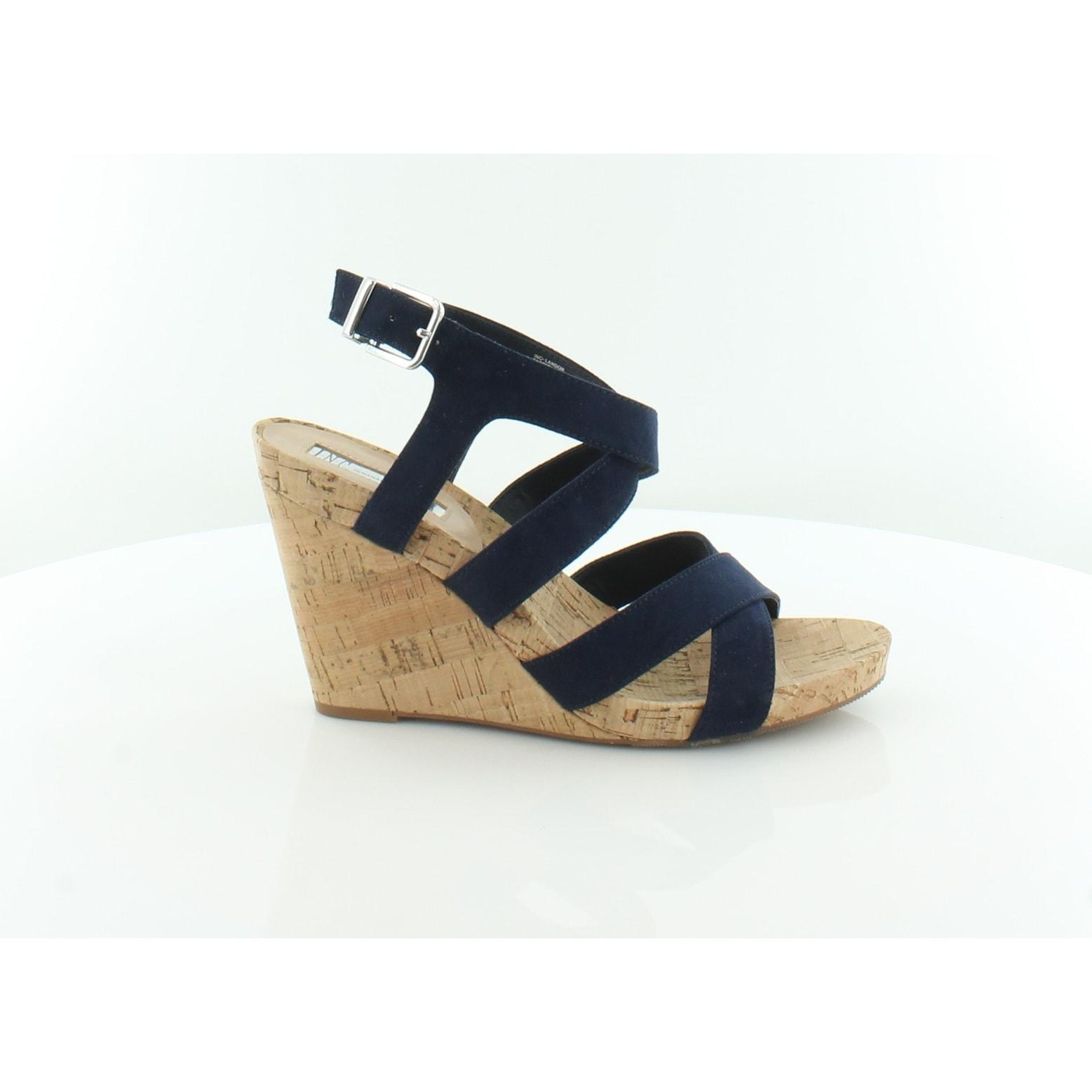 23d98e78a447 Buy Blue INC INTERNATIONAL CONCEPTS Women s Sandals Online at Overstock