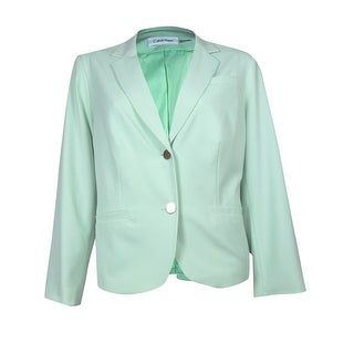 Calvin Klein Women's Simple Button Up Blazer