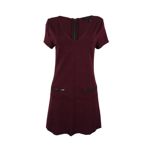 Sanctuary Women's V-Neck Dress - Mulberry - S