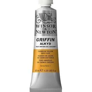Winsor & Newton - Griffin Alkyd Color - 37ml Tube - Cadmium Yellow Deep Hue