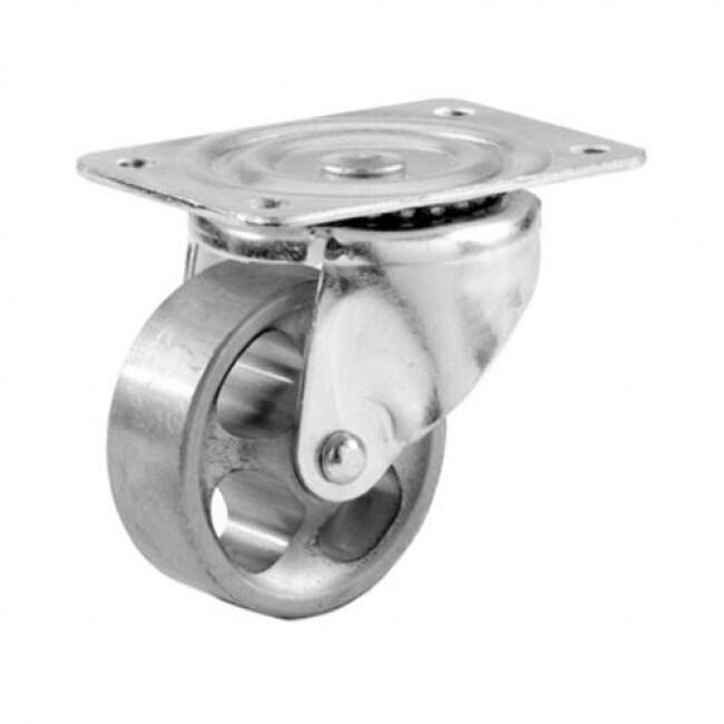 Shepherd Hardware 9780 General Duty Swivel Plate Caster with Cast Iron Wheel, 3