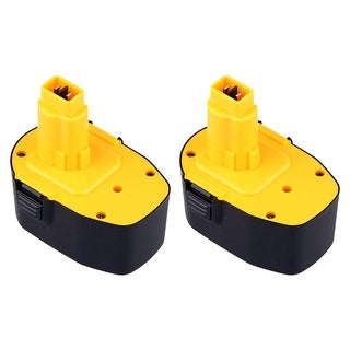 Replacement DC9091 1500 mAh Battery for Dewalt DC735KB / DW941 / DC936A Power Tool Models (2 Pack)