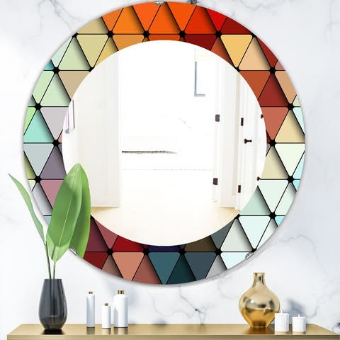 Red Oval Mirrors Shop Online At Overstock