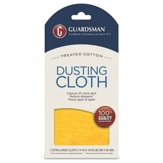 "Guardsman 462100 One-Wipe Ultimate Dusting Cloth, 14"" x 18"""