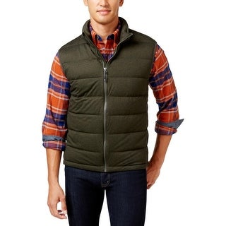 32 Degrees Heat Mens Outerwear Vest Stretch Down - M