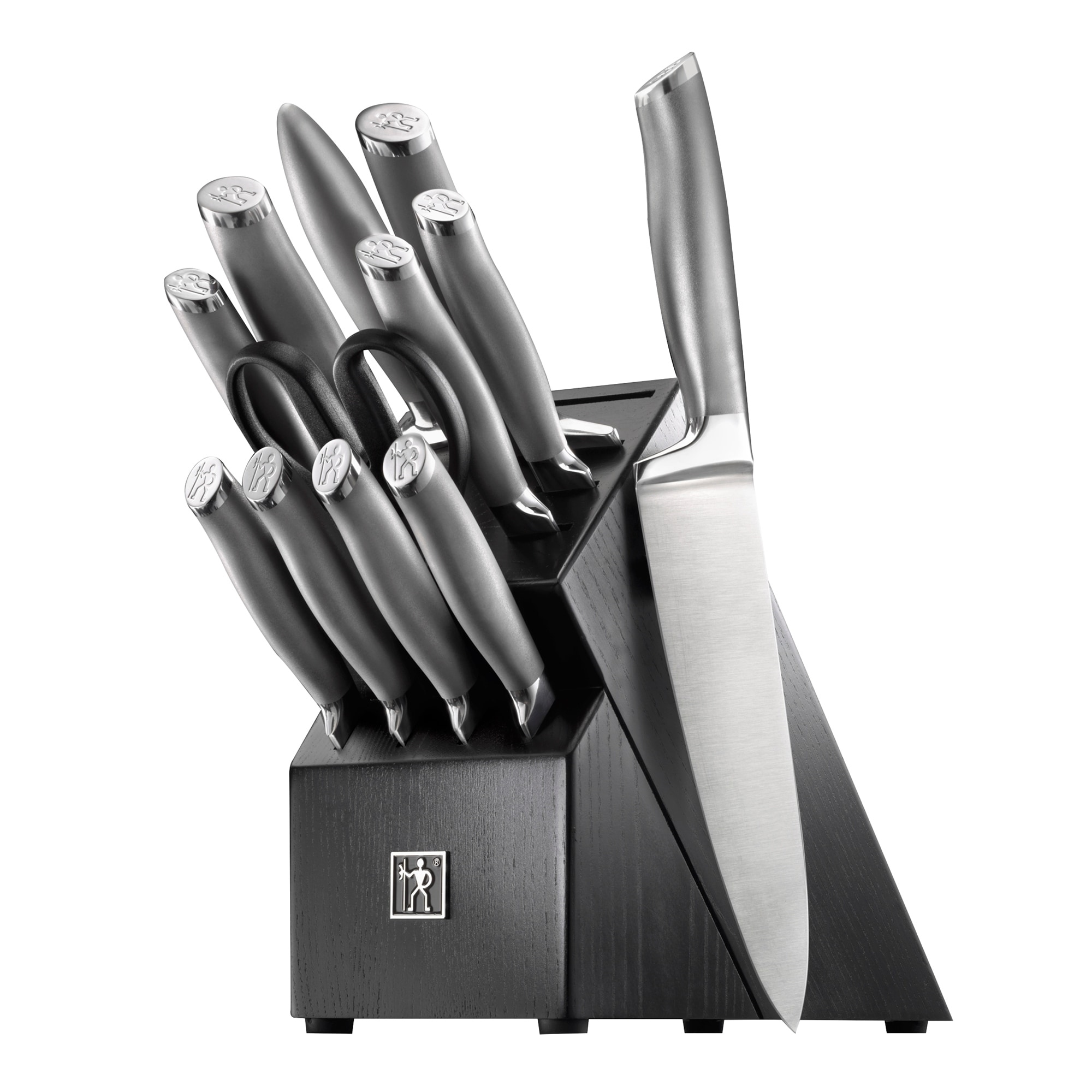 Henckels Modernist 13-pc Knife Block Set - Stainless Steel