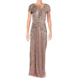 Aidan Mattox Womens Evening Dress Special Occasion Full-Length