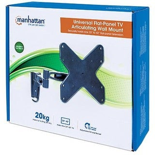 Manhattan 423755 Articulating Tv Wall Mount