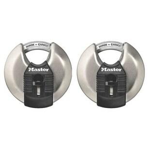 Master Lock M40XTCCSEN Magnum Stainless Steel Discus Padlock