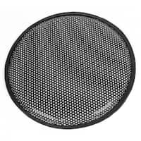 "Unique Bargains Black 11.8"" Round Metal Mesh Vehicle Car Speaker Sub Box Subwoofer Grill Cover"