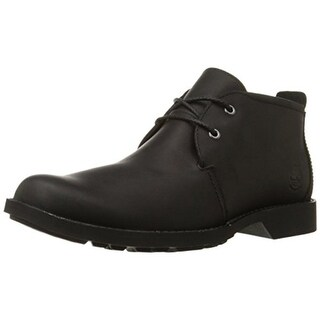 Timberland Mens City Leather Ankle Chukka Boots - 10.5 medium (d)