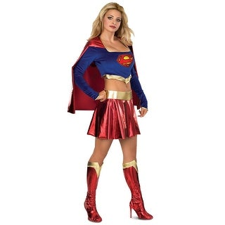 Deluxe Supergirl Sexy Costume Adult Large,Medium,Small,X-Small