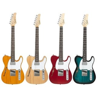 Link to Glarry GTL Semi-Hollow Electric Guitar Rosewood Fingerboard Similar Items in Guitars & Amplifiers