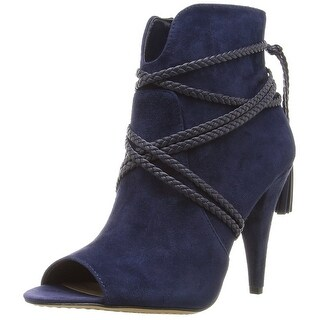 Vince Camuto Womens astan Suede Peep Toe Ankle Fashion Boots