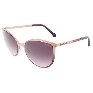 Roberto Cavalli RC985S/S 33T THABIT Rose Gold/Pink Cateye sunglasses