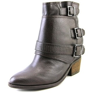 Jessica Simpson Teagan   Round Toe Leather  Ankle Boot