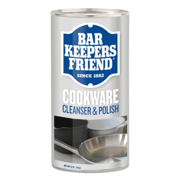 Servaas Laboratories 11513 Bar Keepers Friend Powder Cookware Cleaner